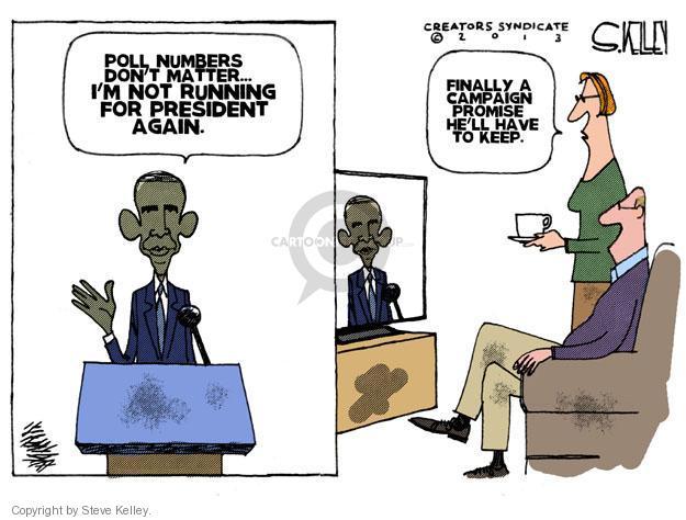 Steve Kelley  Steve Kelley's Editorial Cartoons 2013-11-08 poll number