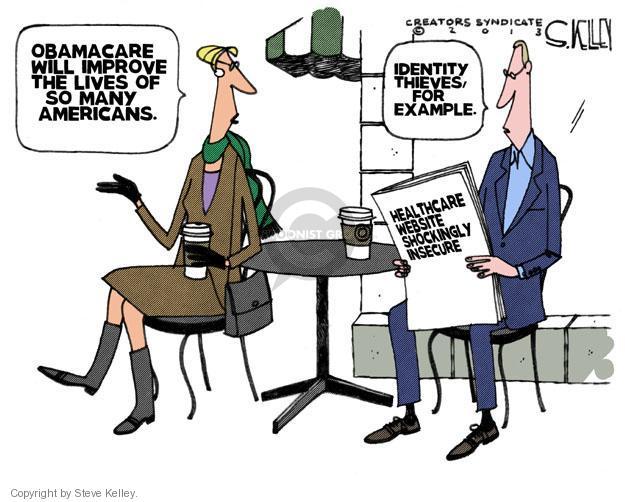 Steve Kelley  Steve Kelley's Editorial Cartoons 2013-12-04 identity