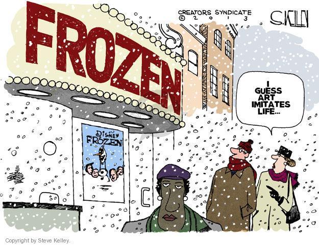 Cartoonist Steve Kelley  Steve Kelley's Editorial Cartoons 2013-12-11 film