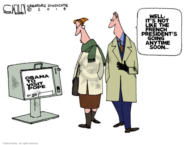 Cartoonist Steve Kelley  Steve Kelley's Editorial Cartoons 2014-01-17 french