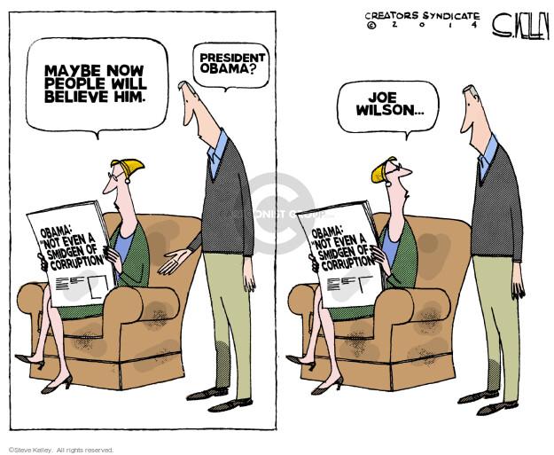 Cartoonist Steve Kelley  Steve Kelley's Editorial Cartoons 2014-02-04 corruption