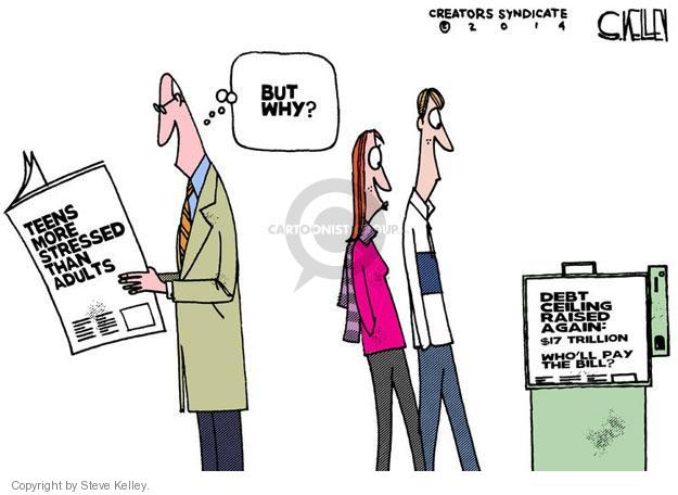 Steve Kelley  Steve Kelley's Editorial Cartoons 2014-02-14 $17
