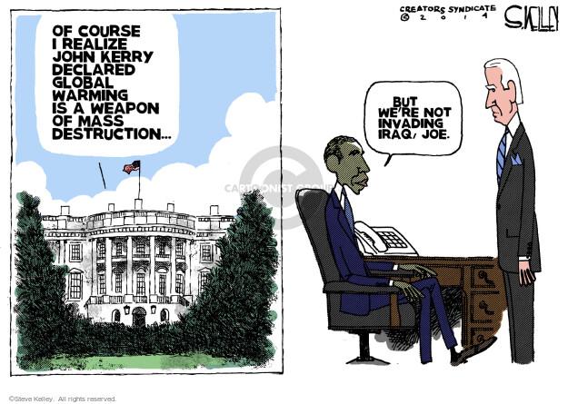 Cartoonist Steve Kelley  Steve Kelley's Editorial Cartoons 2014-02-19 vice president