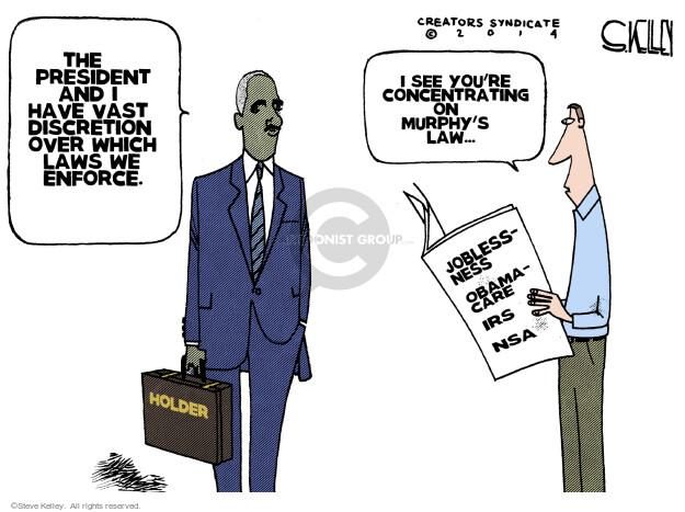 Steve Kelley  Steve Kelley's Editorial Cartoons 2014-04-09 law enforcement