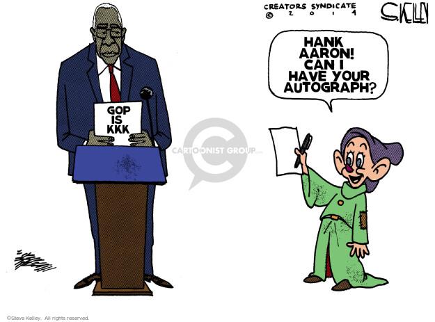 Steve Kelley  Steve Kelley's Editorial Cartoons 2014-04-10 autograph