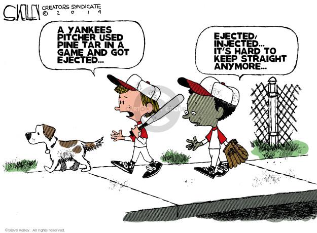 Steve Kelley  Steve Kelley's Editorial Cartoons 2014-04-26 Michael