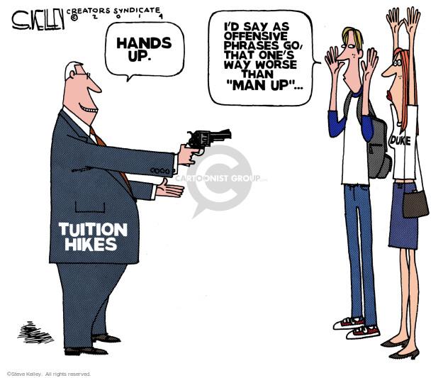 Steve Kelley  Steve Kelley's Editorial Cartoons 2014-05-01 discrimination