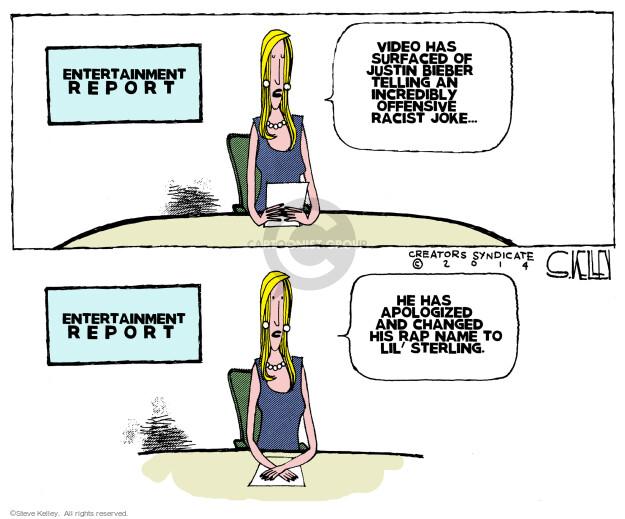 Steve Kelley  Steve Kelley's Editorial Cartoons 2014-06-03 racism