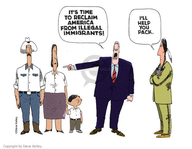 Steve Kelley  Steve Kelley's Editorial Cartoons 2000-01-01 immigration