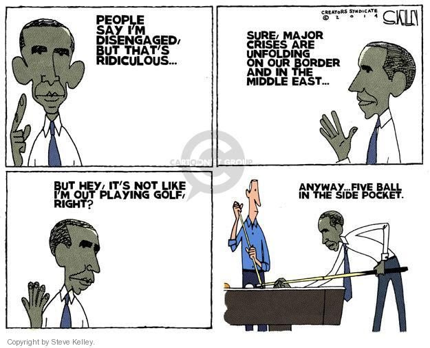 Steve Kelley  Steve Kelley's Editorial Cartoons 2014-07-10 border security