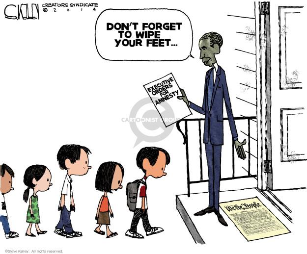 Steve Kelley  Steve Kelley's Editorial Cartoons 2014-07-11 Constitution