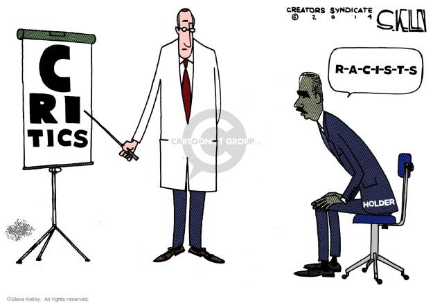 Steve Kelley  Steve Kelley's Editorial Cartoons 2014-07-14 racial discrimination