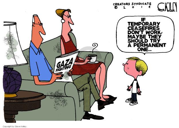 Steve Kelley  Steve Kelley's Editorial Cartoons 2014-07-31 Israel