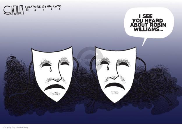 Steve Kelley  Steve Kelley's Editorial Cartoons 2014-08-12 suicide