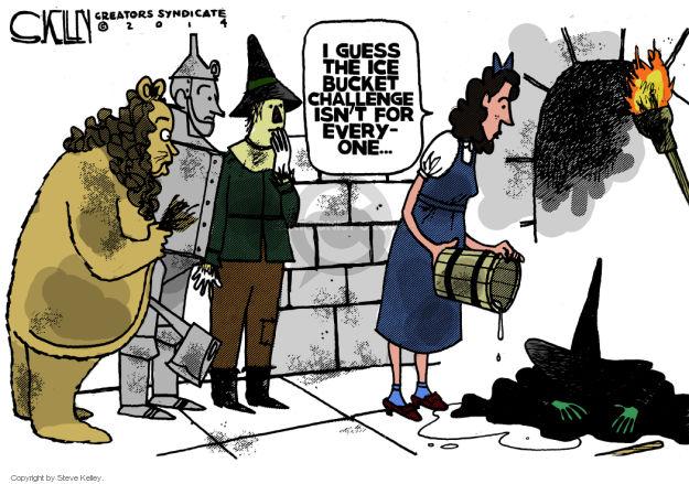Cartoonist Steve Kelley  Steve Kelley's Editorial Cartoons 2014-08-20 guess