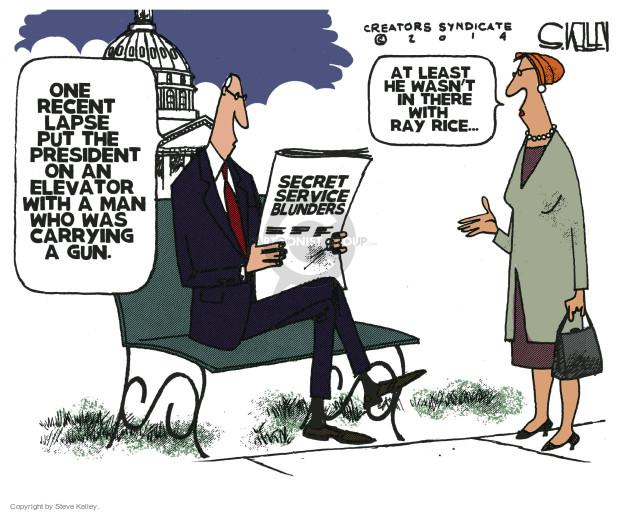 Cartoonist Steve Kelley  Steve Kelley's Editorial Cartoons 2014-10-02 secret