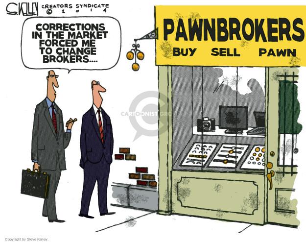 Steve Kelley  Steve Kelley's Editorial Cartoons 2014-10-16 economy