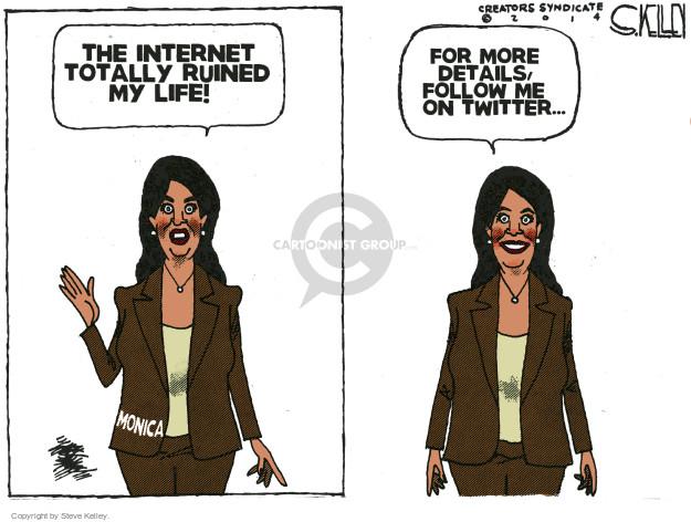 Cartoonist Steve Kelley  Steve Kelley's Editorial Cartoons 2014-10-22 tweet