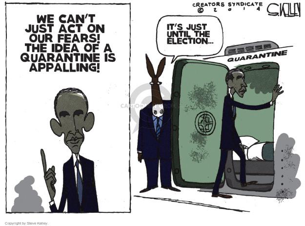 Cartoonist Steve Kelley  Steve Kelley's Editorial Cartoons 2014-10-29 election