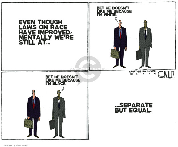 Steve Kelley  Steve Kelley's Editorial Cartoons 2014-12-05 race