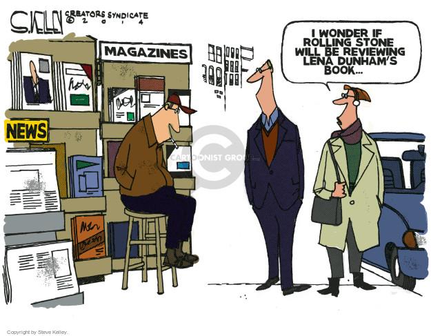 Steve Kelley  Steve Kelley's Editorial Cartoons 2014-12-09 sexual assault