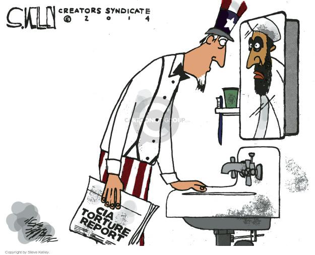 Cartoonist Steve Kelley  Steve Kelley's Editorial Cartoons 2014-12-11 senate