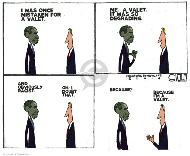 Steve Kelley  Steve Kelley's Editorial Cartoons 2014-12-18 ethnicity