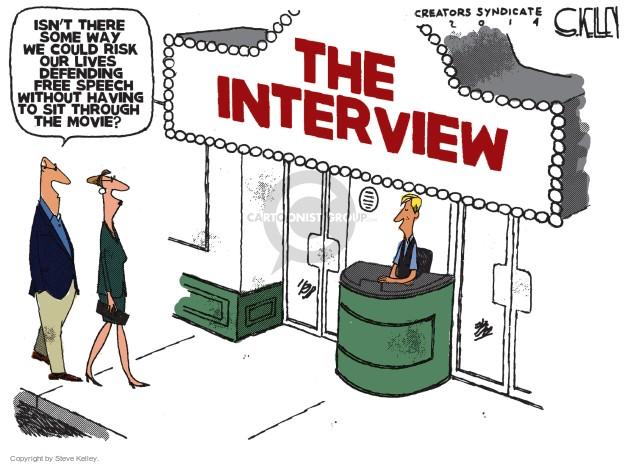 Cartoonist Steve Kelley  Steve Kelley's Editorial Cartoons 2014-12-29 film