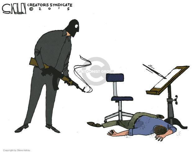 Cartoonist Steve Kelley  Steve Kelley's Editorial Cartoons 2015-01-08 french