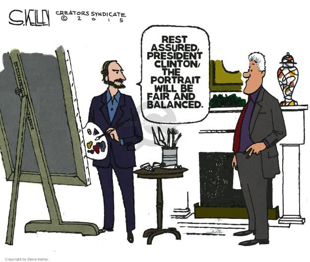 Cartoonist Steve Kelley  Steve Kelley's Editorial Cartoons 2015-03-03 painter