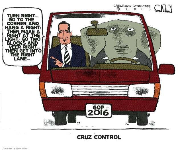 Cartoonist Steve Kelley  Steve Kelley's Editorial Cartoons 2015-03-24 election