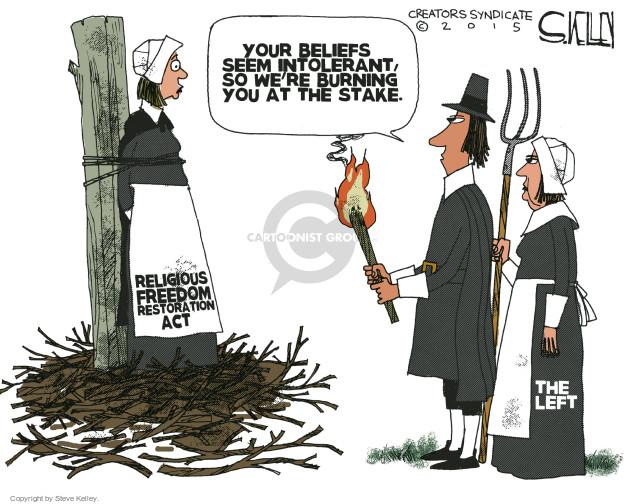 Steve Kelley  Steve Kelley's Editorial Cartoons 2015-03-31 discrimination