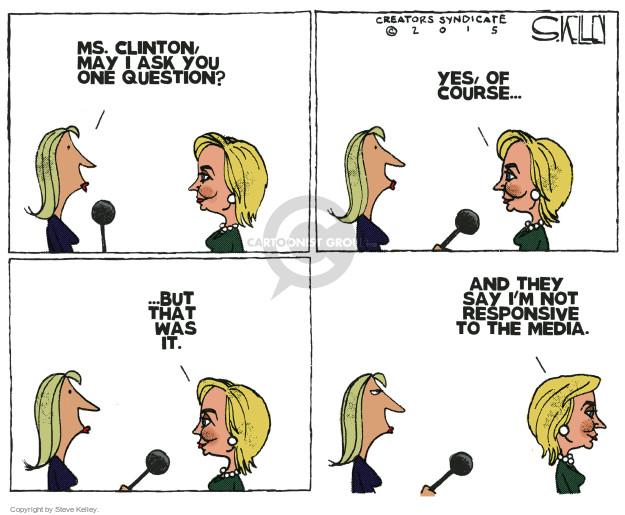 Cartoonist Steve Kelley  Steve Kelley's Editorial Cartoons 2015-05-12 election