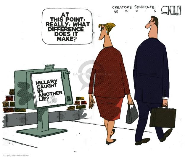 Cartoonist Steve Kelley  Steve Kelley's Editorial Cartoons 2015-05-19 election