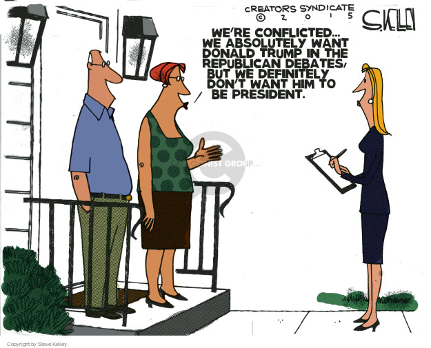 Steve Kelley  Steve Kelley's Editorial Cartoons 2015-06-18 absolutely