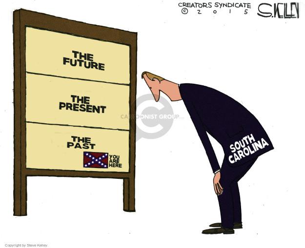 Steve Kelley  Steve Kelley's Editorial Cartoons 2015-06-23 south