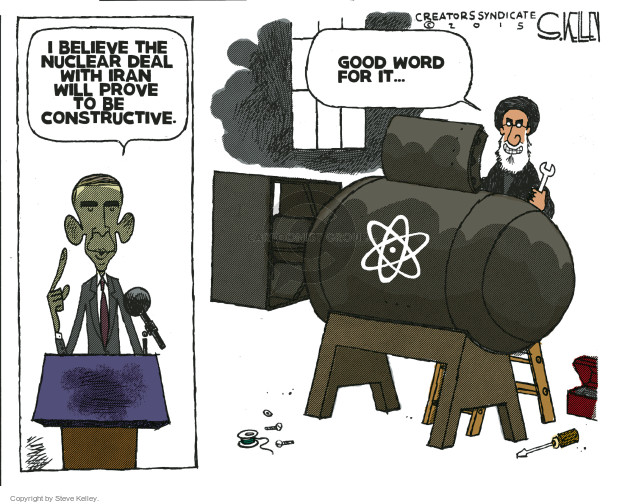 Cartoonist Steve Kelley  Steve Kelley's Editorial Cartoons 2015-07-16 word