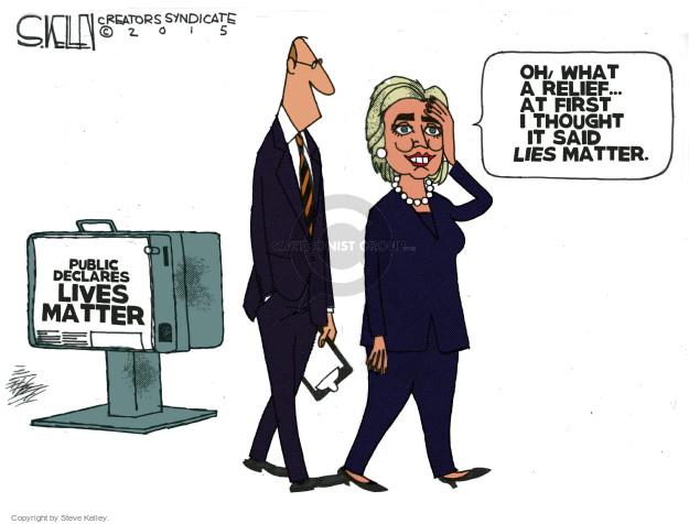 Steve Kelley  Steve Kelley's Editorial Cartoons 2015-09-01 matter