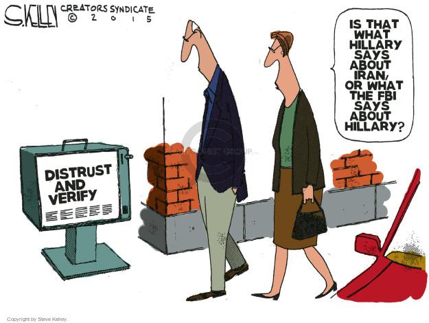Cartoonist Steve Kelley  Steve Kelley's Editorial Cartoons 2015-09-10 nuclear