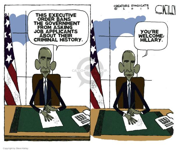 Cartoonist Steve Kelley  Steve Kelley's Editorial Cartoons 2015-11-03 Oval Office