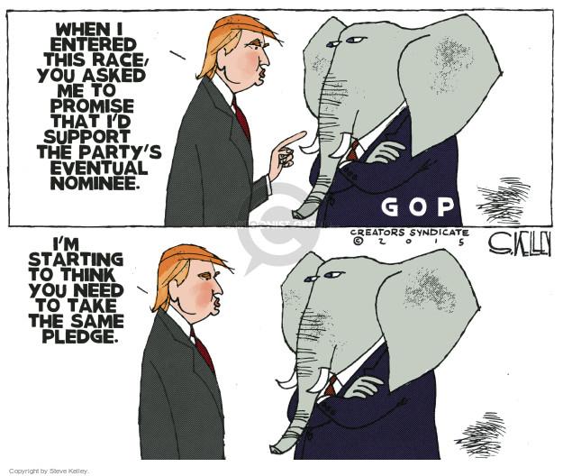 Cartoonist Steve Kelley  Steve Kelley's Editorial Cartoons 2015-11-10 election