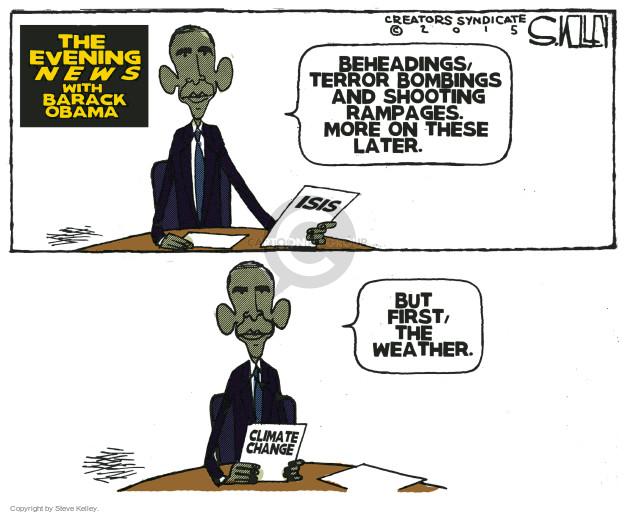 Steve Kelley  Steve Kelley's Editorial Cartoons 2015-12-01 Barack Obama
