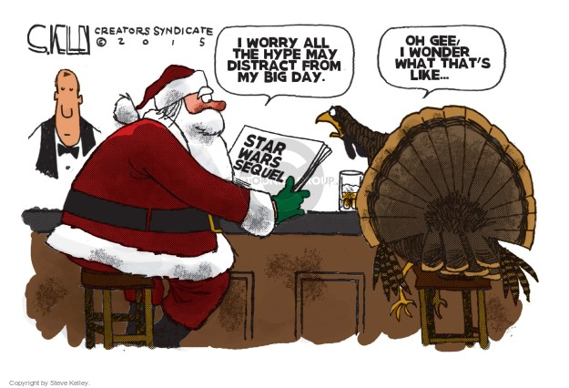 Cartoonist Steve Kelley  Steve Kelley's Editorial Cartoons 2015-12-24 movie