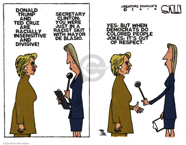 Steve Kelley  Steve Kelley's Editorial Cartoons 2016-04-14 bigotry