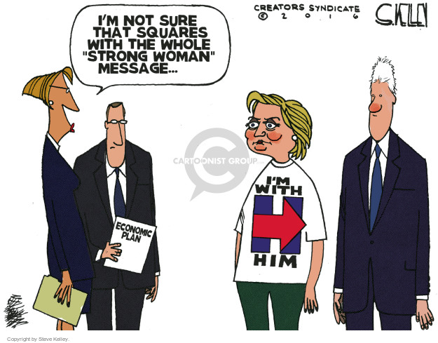 Cartoonist Steve Kelley  Steve Kelley's Editorial Cartoons 2016-05-17 election