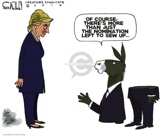 Steve Kelley  Steve Kelley's Editorial Cartoons 2016-05-19 nomination