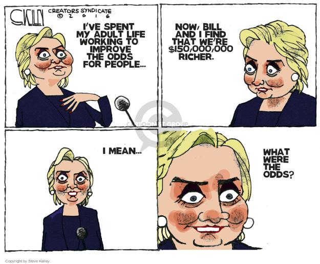 Cartoonist Steve Kelley  Steve Kelley's Editorial Cartoons 2016-06-23 election