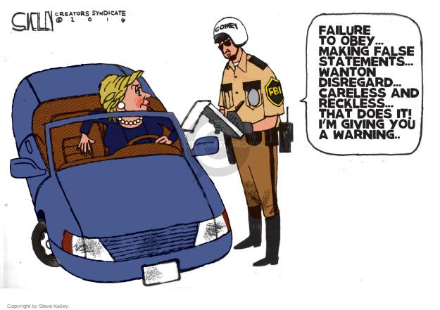 Cartoonist Steve Kelley  Steve Kelley's Editorial Cartoons 2016-07-07 election