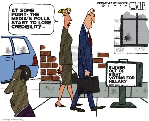 Cartoonist Steve Kelley  Steve Kelley's Editorial Cartoons 2016-10-28 election