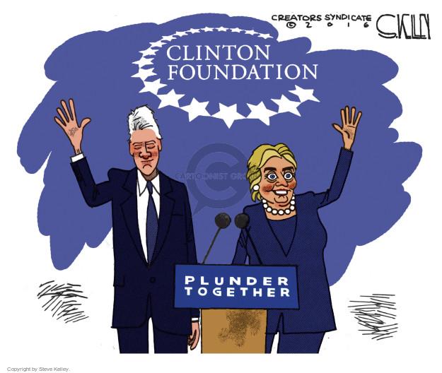 Cartoonist Steve Kelley  Steve Kelley's Editorial Cartoons 2016-11-02 election